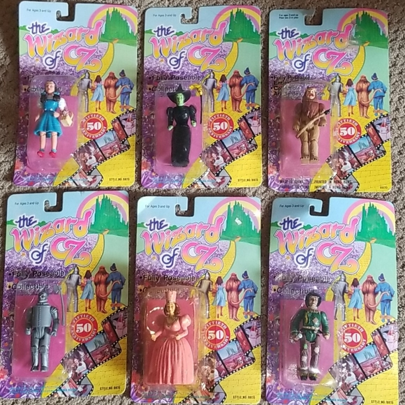 wizard of oz  50th anniv. 1988 vintage collectible